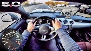 ford mustang gti ford mustang gt 2017 acceleration top speed autobahn test