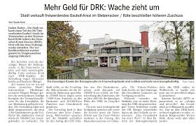 Baden Badener Versicherung Meldungen Drk Kreisverband Bühl Achern E V
