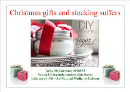 christmas gifts and stocking stuffers using young living essential