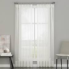 Curtains For Traverse Rod Pinch Pleat Traverse Rod Curtains Bed Bath Beyond