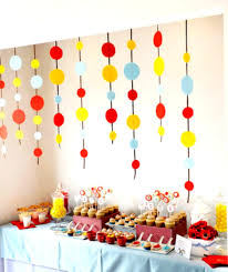 Homemade Decoration Homemade Decoration For 1st Birthday Party Party Theme Decoration