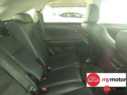 lexus rx used malaysia 2014 lexus rx for sale in malaysia for rm310 800 mymotor