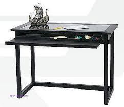 Wooden Corner Desk Top Have Slide Out Drawer For Keyboard by Computer Desk Computer Desk With Slide Out Keyboard Shelf Luxury