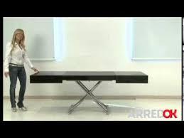 tavoli alzabili tavolo trasformabile box by ozzio design