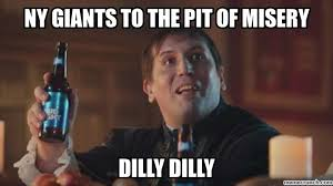Ny Giant Memes - giants to the pit of misery