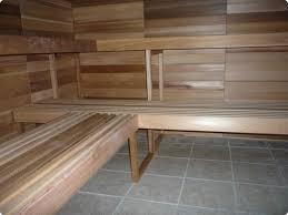 Bench Supports Prefab Modular Sauna Assembly 8x12