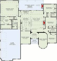 home theater floor plan country castle 60539nd architectural designs house plans
