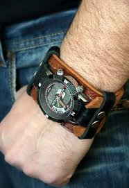 mens bracelet wrist watches images 45 best watch cuffs leather bands images wrist jpg