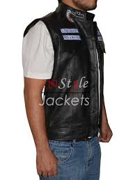 lightweight motorcycle jacket jax sons teller anarchy motorcycle leather vest
