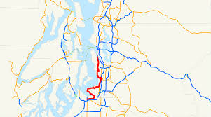 Map Of Seattle Airport by Washington State Route 509 Wikipedia
