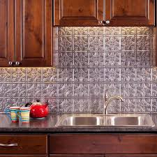 Images Of Tile Backsplashes In A Kitchen Fasade Backsplash Traditional 1 In Crosshatch Silver