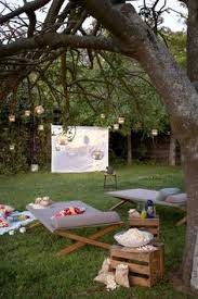 Backyard Outdoor Theater by Who Doesn U0027t Love A Good Patio Party Here Are A Few Ideas For Your
