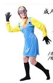 Minion Womens Halloween Costume Cheap Yellow Minion Costume Aliexpress Alibaba Group