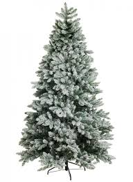 13 foot king flock artificial christmas tree led lights king