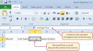 How To Use Excel Spreadsheet Entering Editing And Managing Data