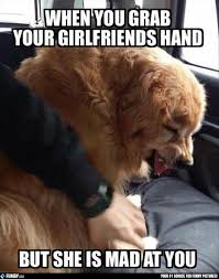 Mad Girlfriend Meme - when you grab your girlfriends hand but she is mad at you funny