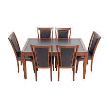 used dining room set brilliant ideas of nine piece dining room set alliancemv on used