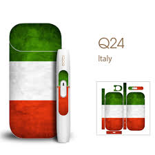 Flag Of Itali Pop Skin For Iqos Protection Sticker Flag Of Italy Cut Ver Easy