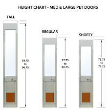 Vinyl Patio Pet Door Patio Door With Pet Door Handballtunisie Org