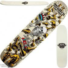 powell peralta bones brigade mullen chess set skateboard deck