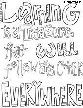 quotes coloring pages creative inspiration
