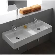 Double Faucet Scarabeo 8035 By Nameek U0027s Teorema Rectangular White Ceramic Wall