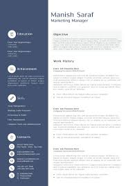 curriculum vitae sles pdf free download sle resume templates doc printable marketing manager word job