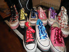 ribbon shoe laces converse ribbon laces ebay