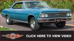 1966 chevrolet chevelle malibu sold youtube