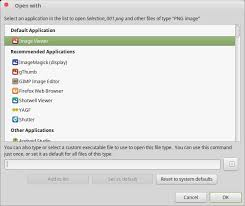 android file associations choose the apps linux uses by default preferred app