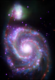 an infrared view of the galaxy nasa