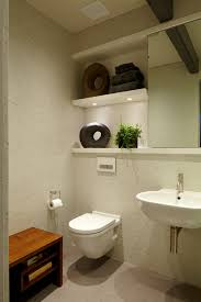 elegant duravit toilet in bathroom contemporary with wall mounted
