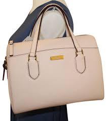 light pink kate spade bag kate spade light pink cow leather lanae laurel way wkru4324 satchel