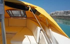 bow dodger i boat shade marine canopy the element