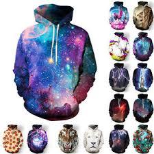galaxy sweater hoodie warm hooded sweatshirt coat jacket outwear
