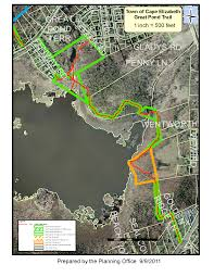 Fenway Map Great Pond Trail Map