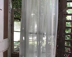 Semi Sheer Curtains Semi Sheer Curtains Etsy