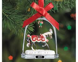 peppermint 2015 stirrup ornament
