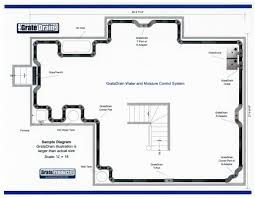 Interior Basement Drainage System Waterproofing System For Basement Streamrr Com