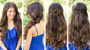 quick party hairstyles for straight hair collections hairstyle for long straight hair for party of easy party