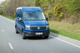 green volkswagen van volkswagen vans now coming with autonomous emergency braking as