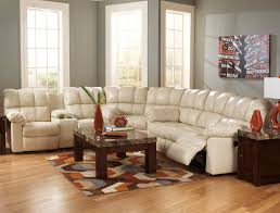 Top Grain Leather Sectional Sofas Top Grain Leather Match Reclining Sectional Sofa With Power