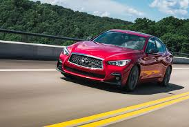 on the road review infiniti review 2018 infiniti q50 red sport 400 gear patrol