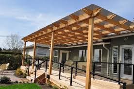 Pergola Designs With Roof by Patio Canopy Polycarbonate Methacrylate Metal Polimer Tecnic