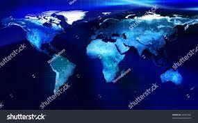 Planet Map Map World Earth Planet Mesh Stock Illustration 26557366 Shutterstock
