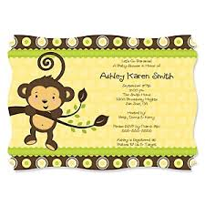 baby shower monkey monkey neutral baby shower decorations theme babyshowerstuff