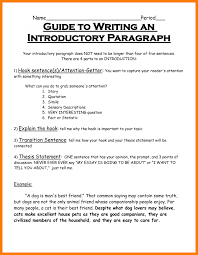 how to write a introduction paragraph for an essay 8 introduction paragraph template park attendant
