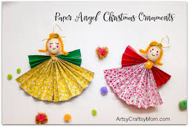 how to make paper ornaments artsy craftsy