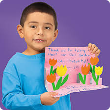 pop up thank you card at lakeshore learning