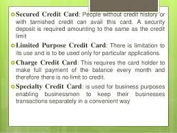 Secured Credit Card For Business Credit And Debit